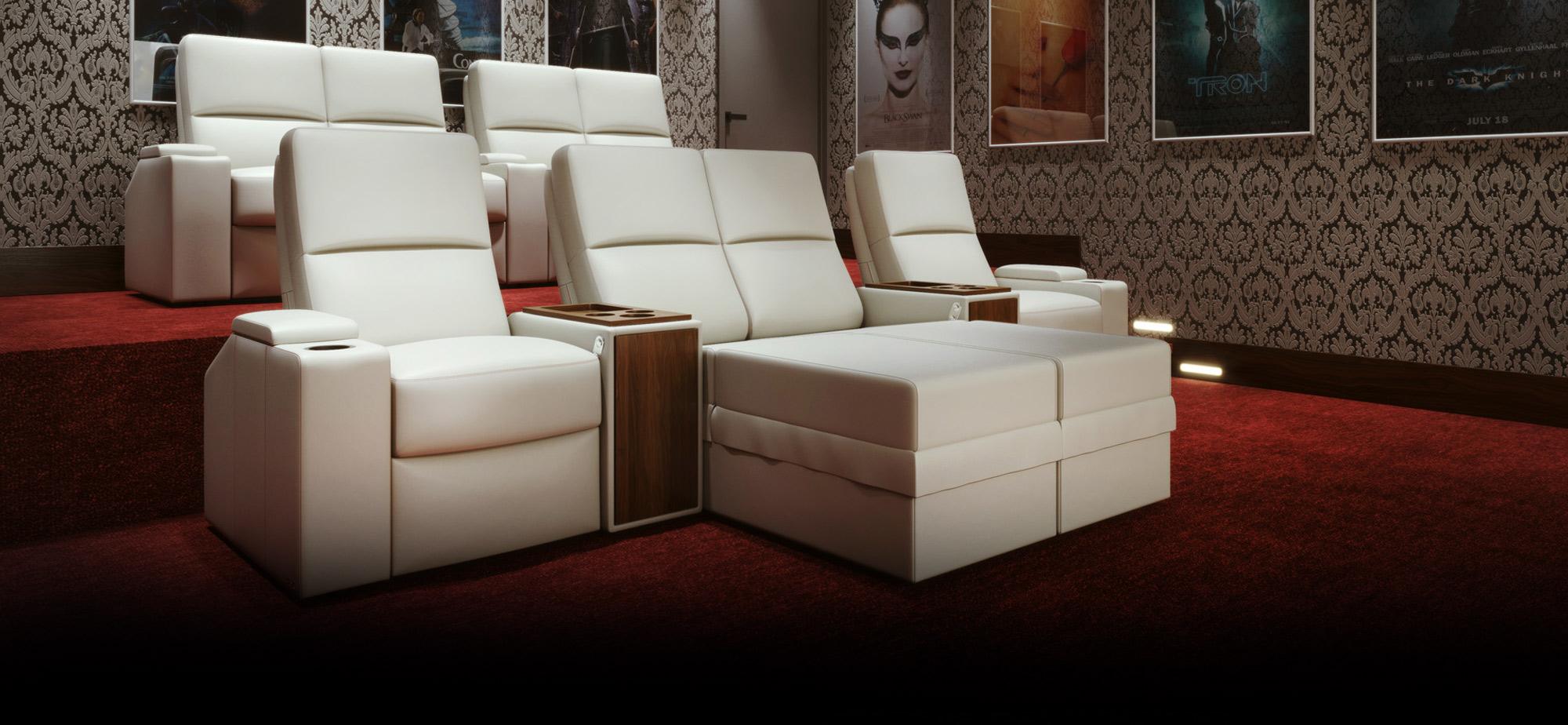 Cinema Sofa Bed With Docking Station Sofa The Honoroak