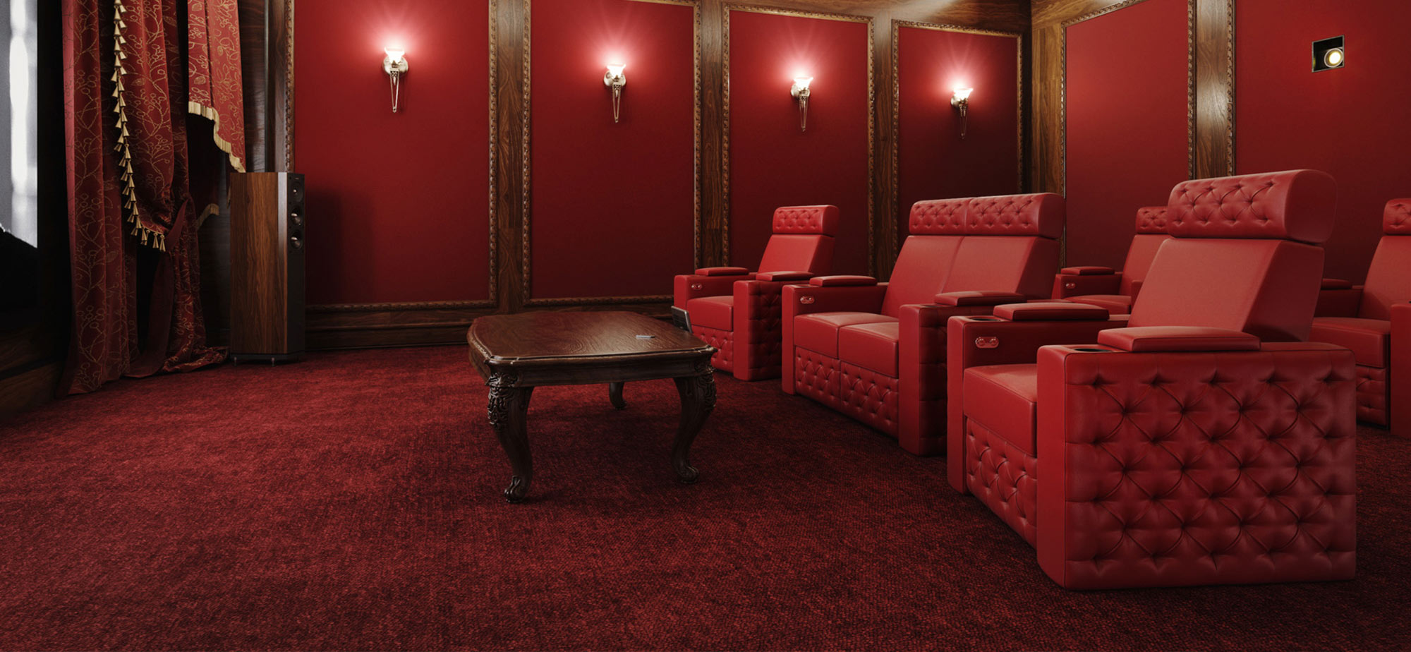 Chesterfield - theater seating - Moovia
